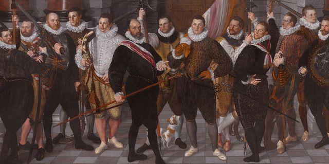 """""""Компанията на капитан Розенкранц Кетел"""", 1588"""