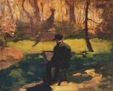 В Люксембургската градина, 1904