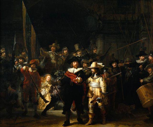 """""""Нощна стража"""", 1642 г."""