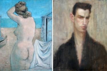 Край морето (1938), Автопортрет (1925)