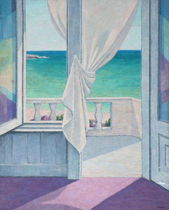 Море, на балкона