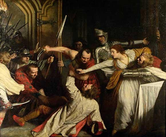 The Murder of Rizzio, 1787