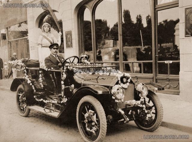 София, началото на XX век – откриване на магазин на Александър Киров, официален вносител на Benz – България е в крачка със световните тенденции