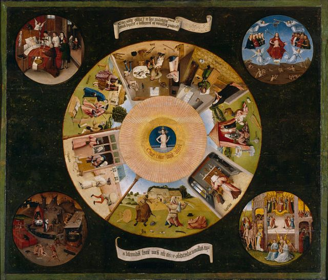 The Seven Deadly Sins and the Four Last Things, 1500-1525