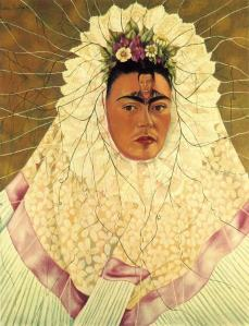 Self-Portrait as a Tehuana (Diego on My Mind), 1943