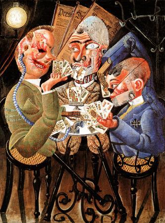 The Skat Players, 1920