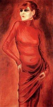 Portrait of the Dancer Anita Berber,1925
