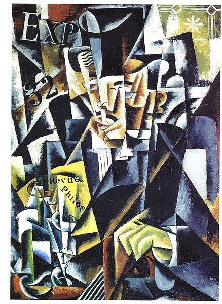 Портрет философа, 1915