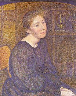 Portrait of Mme. Lemmen, 1893