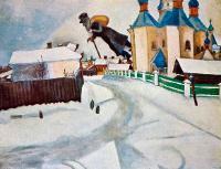 Over Vitebsk, c 1914 (Над Витебск)