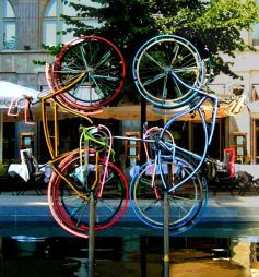 Riding Bikes, Berlin, Germany, 1998
