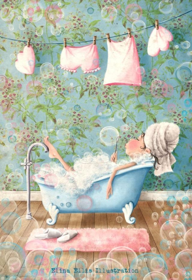 Фея на сапунените мехури