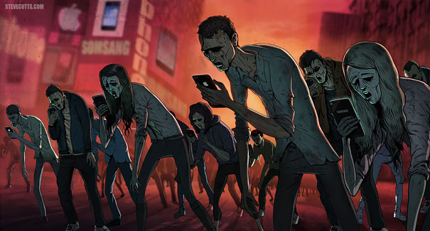 Zombies, Steve Cutts